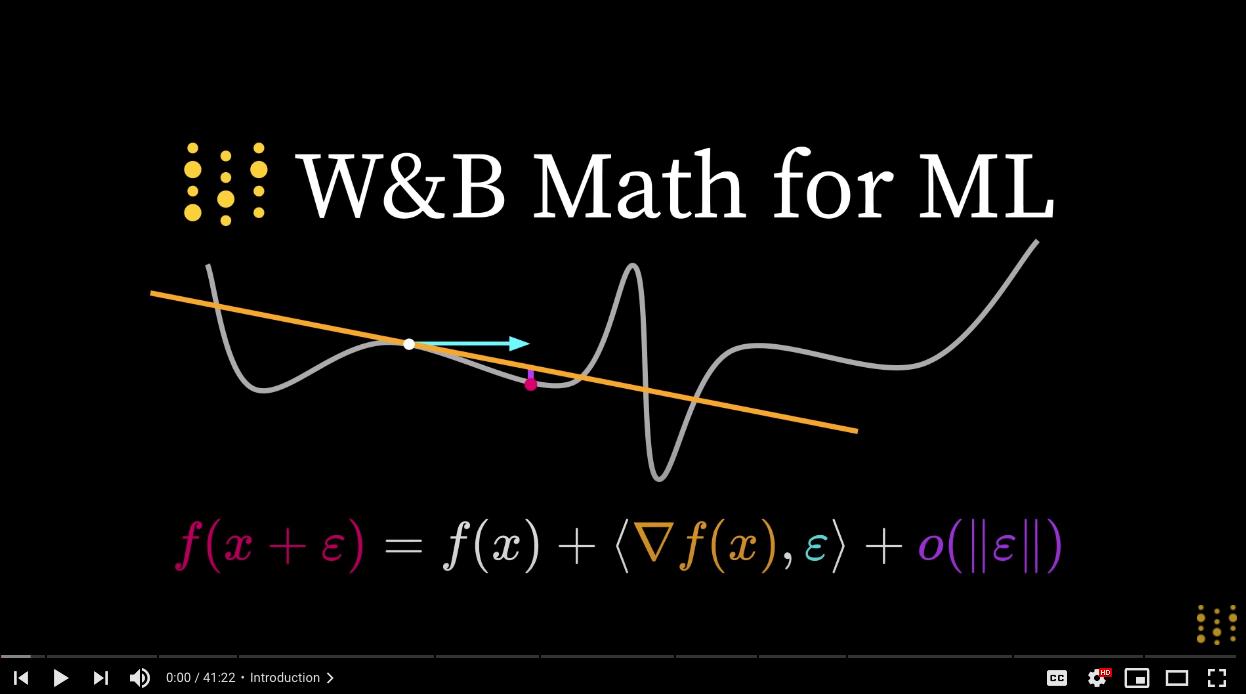 math4ml_videos